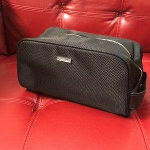 Giorgia armani cosmetic pouch bag clutch new